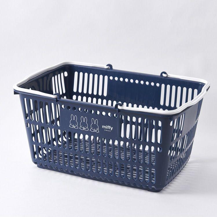 【ミッフィー】収納バスケット(3にん/NV)